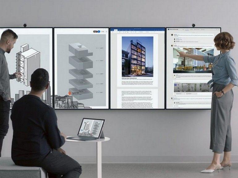 Microsoft Surface Hub 2 : un incroyable écran de 50 pouces qui plonge les entreprises dans le futur