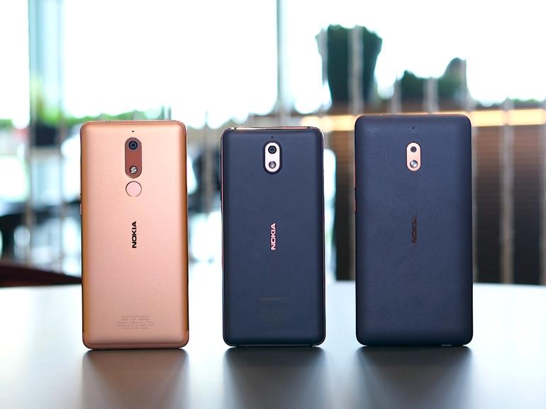 Nokia 5.1, 3.1 et 2.1 : trois smartphones Android à moins de 200 euros