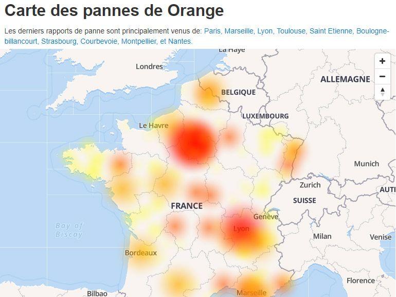Internet en panne réparé : les principaux fournisseurs français touchés