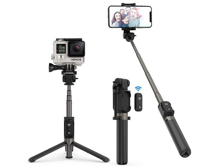 Bon plan : une perche selfie pour smartphone ou GoPro avec télécommande à 18,39€