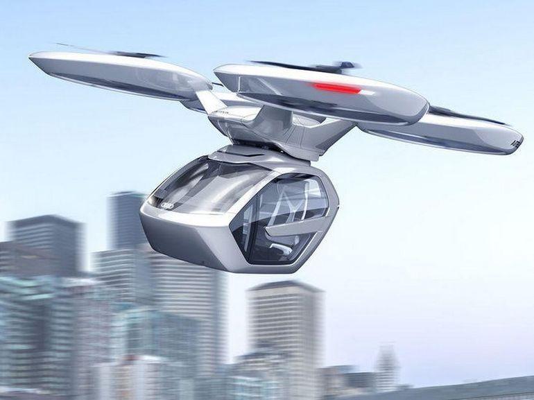 Le taxi volant d'Airbus et Audi sera testé en Allemagne