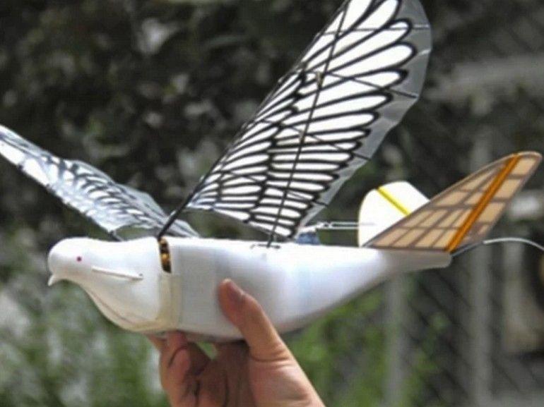 Quand la Chine utilise des drones oiseaux pour surveiller la population
