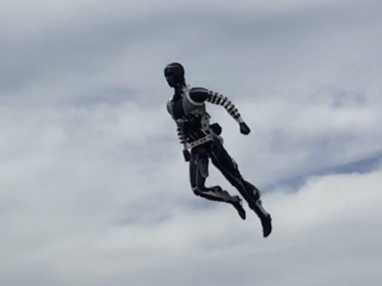 Un robot cascadeur, bluffant de réalisme, pour les parcs Disneyland