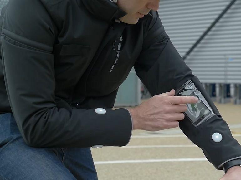 Ford Smart Jacket : la veste connectée spécialement conçue pour les cyclistes