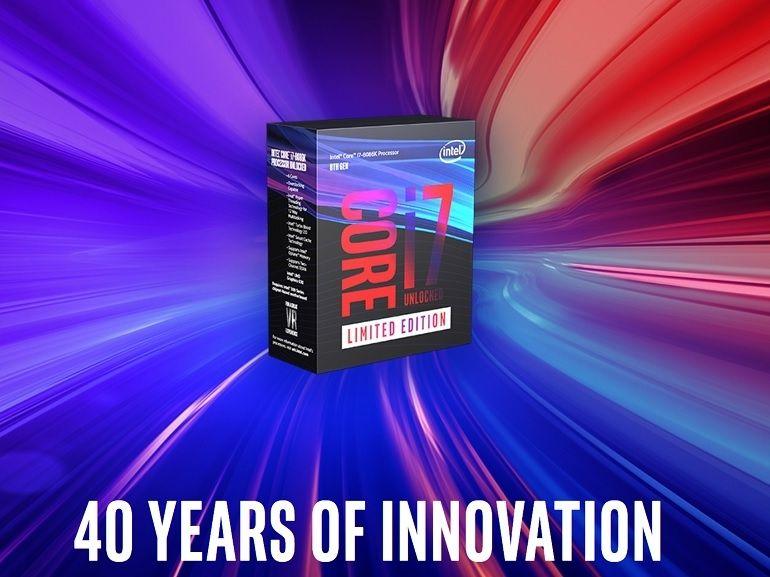 Intel : un processeur à 5 GHz pour célébrer les 40 ans du x86 et un core i9 à 28 cœurs
