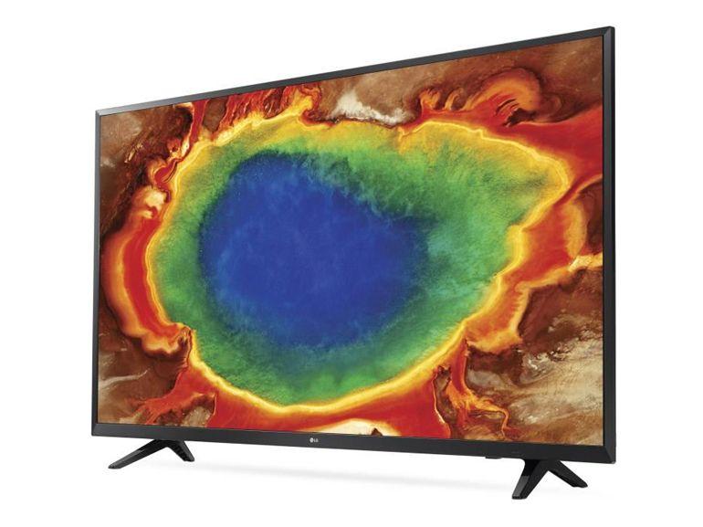 Soldes : le TV 4K LG 55UJ620V à 500€ au lieu de 550€