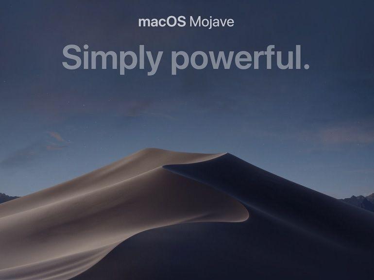 WWDC 2018 : macOS Mojave, les nouveautés et appareils compatibles