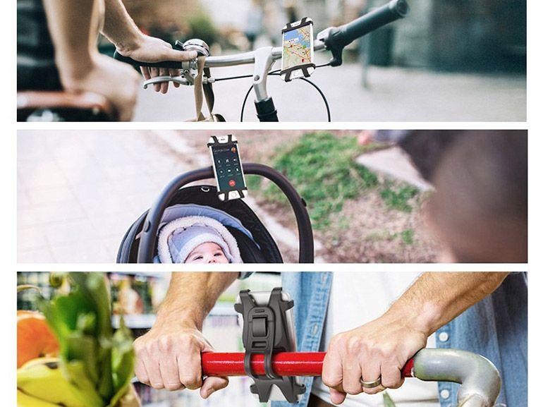 Bon plan : un support de smartphone pour vélo, moto ou poussette à 8,99€