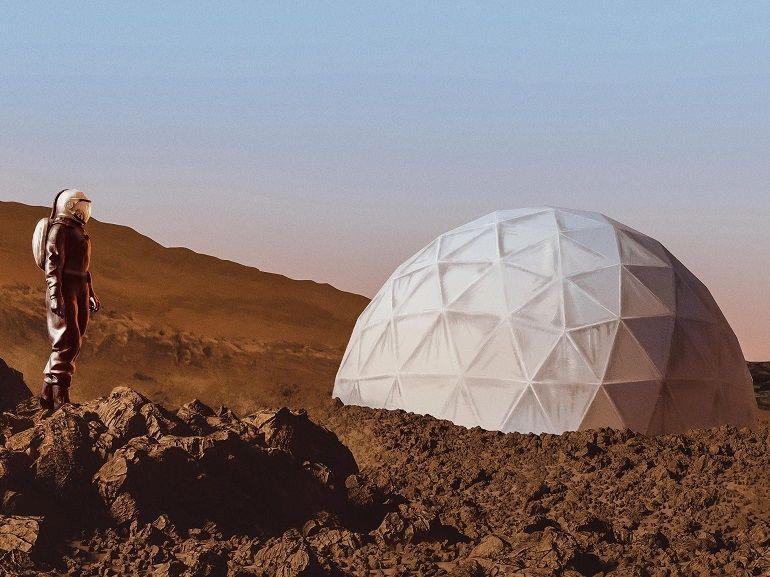 Voyage sur Mars : notre journée dans la peau d'un astronaute / colon martien