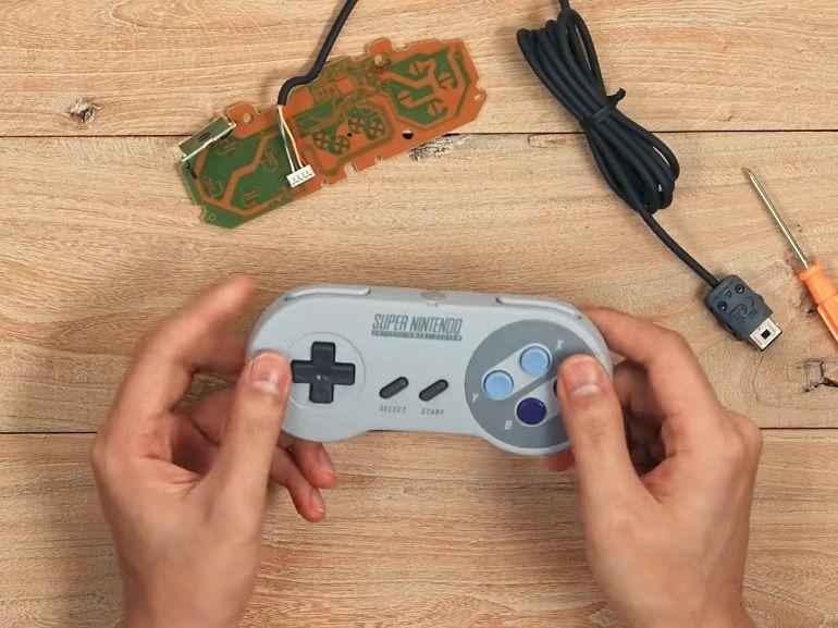DIY : transformez vos vieilles manettes (NES, SNES, Megadrive) en manettes Bluetooth