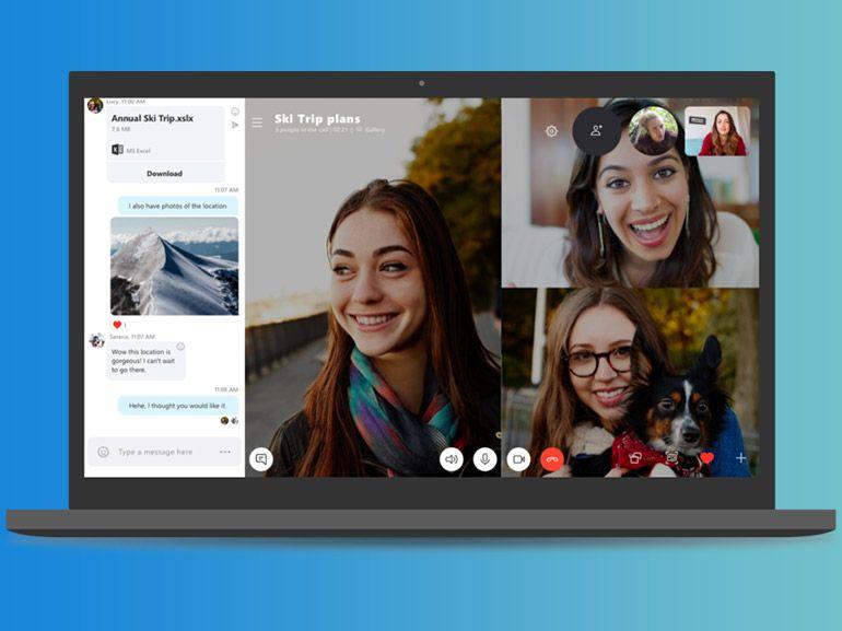 """Microsoft retarde la """"mort"""" de Skype 7"""