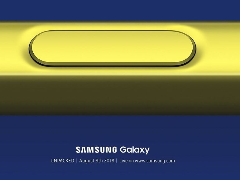 Samsung Galaxy Note 9 : un S-Pen revisité doté du Bluetooth ?