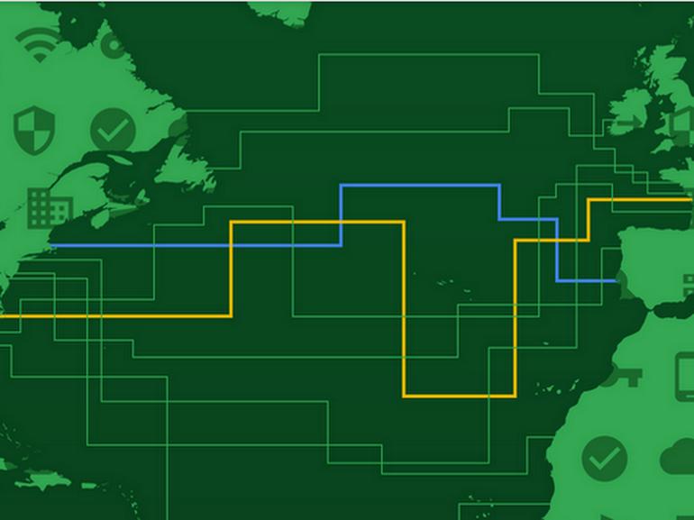 Google s'offre un nouveau câble transatlantique baptisé Dunant, du nom du fondateur de la Croix Rouge