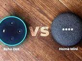 Amazon Echo Dot vs Google Home Mini : quelle est la meilleure enceinte connectée à moins de 60€ ?