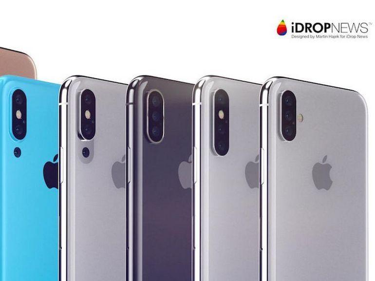 iPhones 2018 : Apple proposerait 5 couleurs au choix