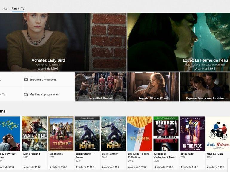 Microsoft : bientôt une application Films et TV pour Android et iOS ?