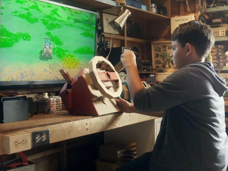 Nintendo Labo : un nouveau kit de développement arrive le 14 septembre