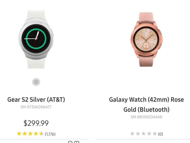 Galaxy Watch : Samsung a-t-il fait fuiter sa montre connectée ?