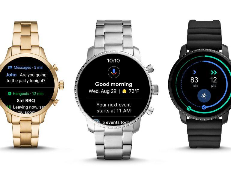 Wear OS : la mise à jour prépare l'arrivée de nouvelles montres connectées