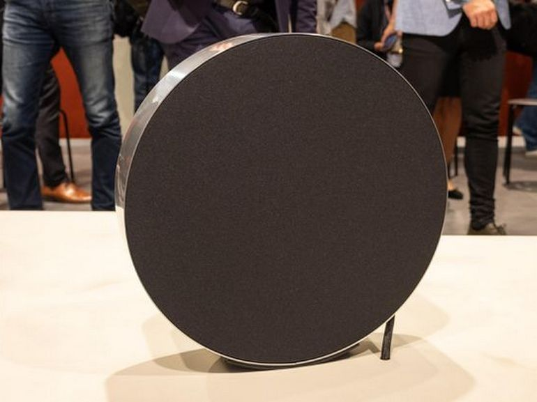 IFA 2018 : l'audacieuse enceinte circulaire BeoSound Edge signée Bang & Olufsen