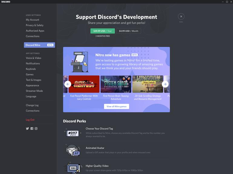 Discord ouvre sa boutique de jeux vidéo, avec vente à l'unité et abonnement