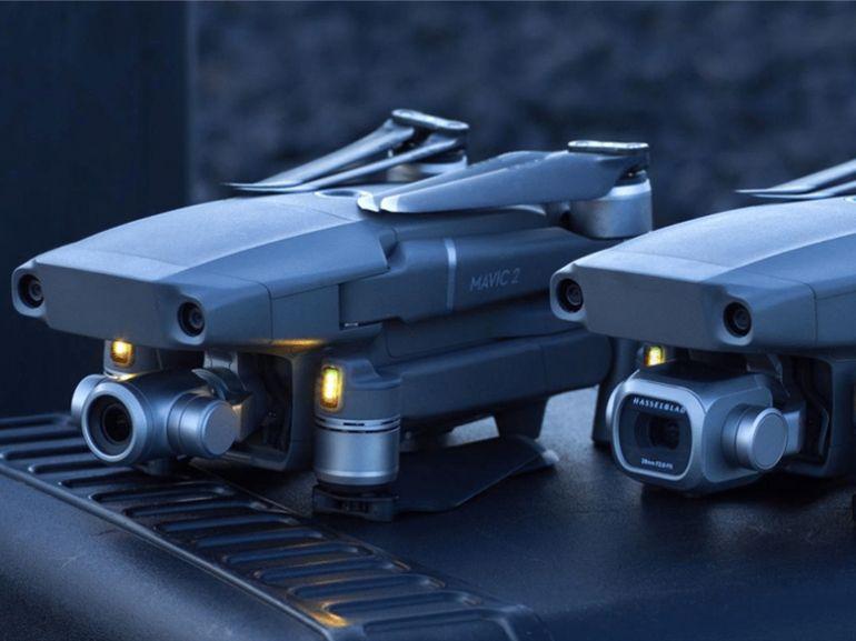 DJI lance les Mavic 2 Pro et Zoom, avec caméras Hasselblad