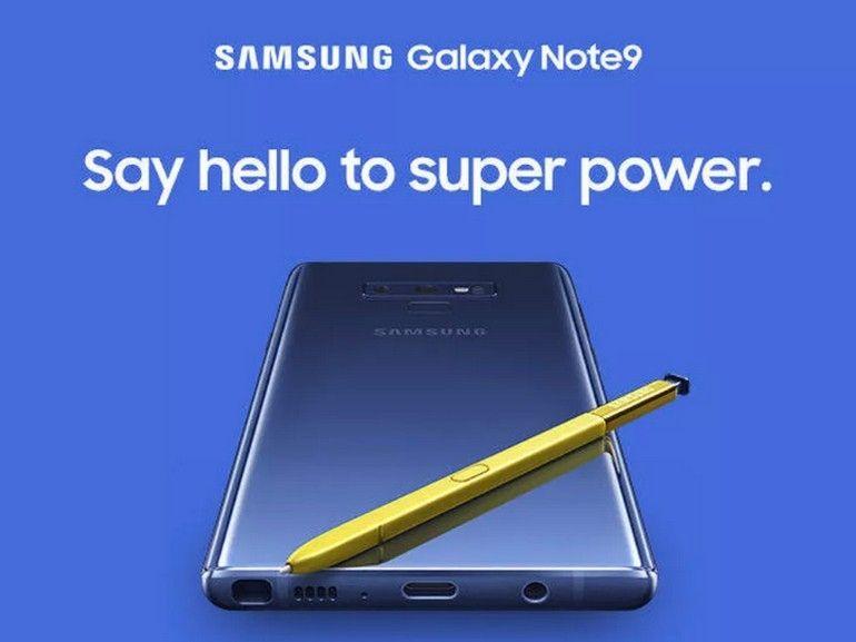 Le Galaxy Note 9 fuite sur le site Samsung et confirme la présence d'une prise casque