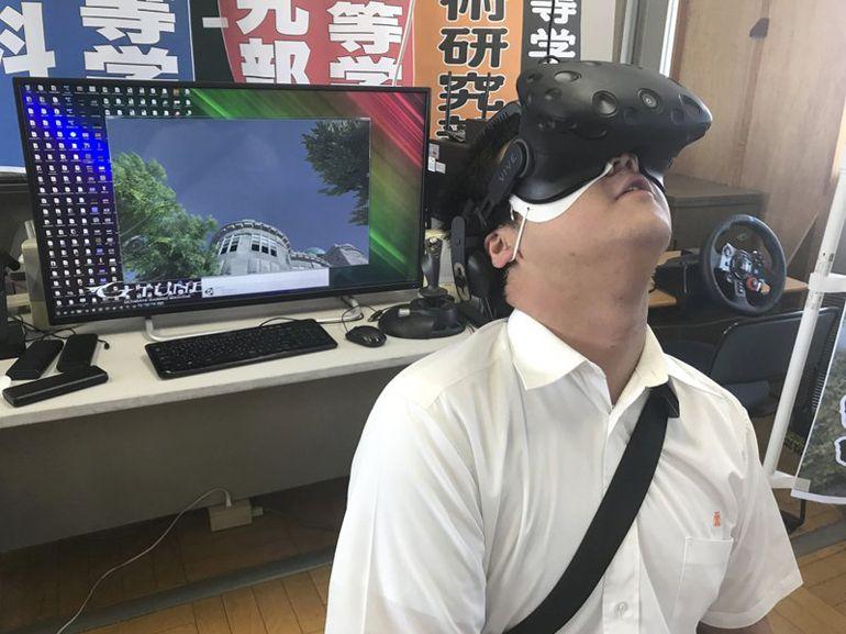 Réalité virtuelle : une expérience reconstitue le bombardement d'Hiroshima