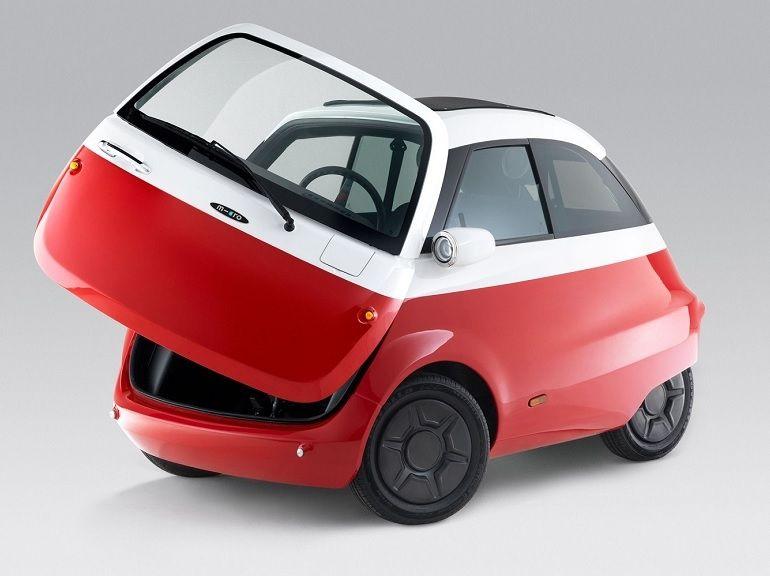 Microlino : la version contemporaine et électrique de la BMW Isetta sortira début 2019