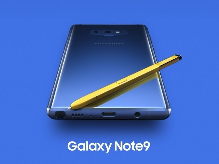 Samsung annonce le Galaxy Note 9