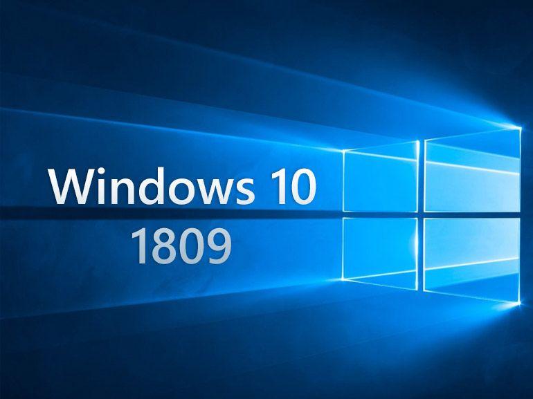 Windows 10 1809 est officiellement le numéro de la prochaine mise à jour majeure