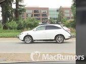 Une voiture autonome d'Apple impliquée dans son premier accident