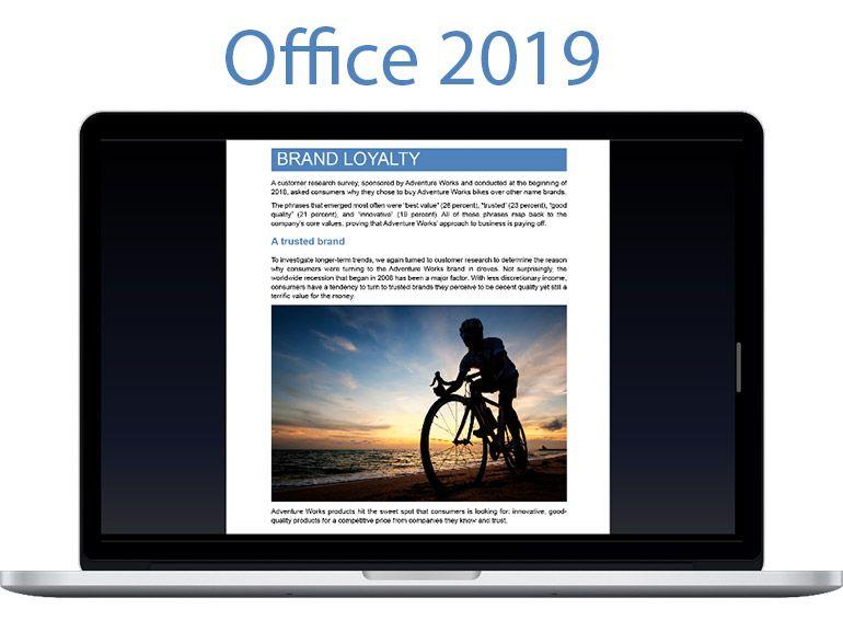 Microsoft annonce l'arrivée de la suite Office 2019 pour Windows et Mac