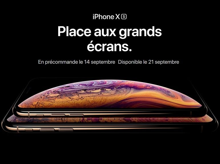 [DIRECT] Conférence Apple : iPhone Xs, iPhone Xs Max, iPhone Xr et Apple Watch Series 4 officiels, toutes les annonces de la keynote