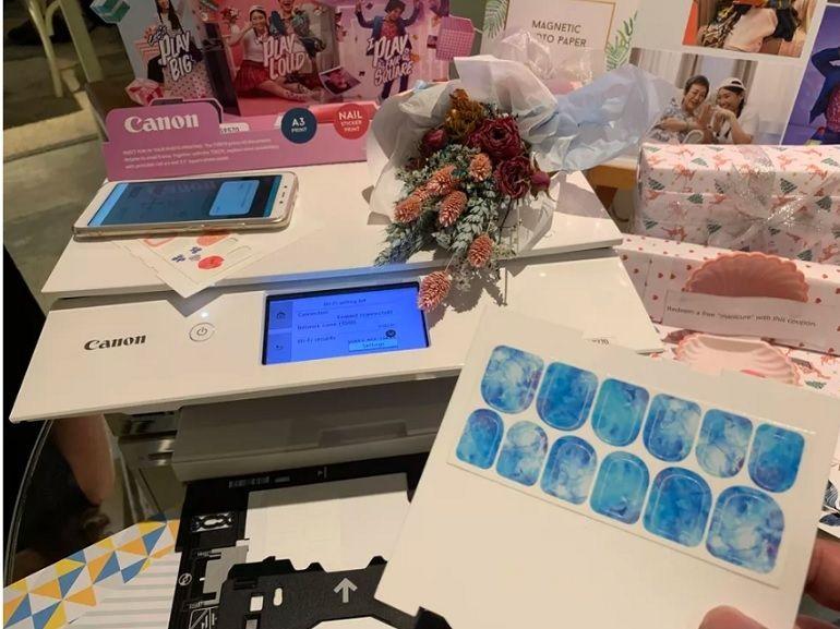 Nail art : la nouvelle imprimante de Canon pourrait vous aider à économiser sur les manucures