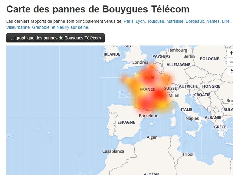 Bouygues Telecom : les problèmes d'accès à internet sont résolus