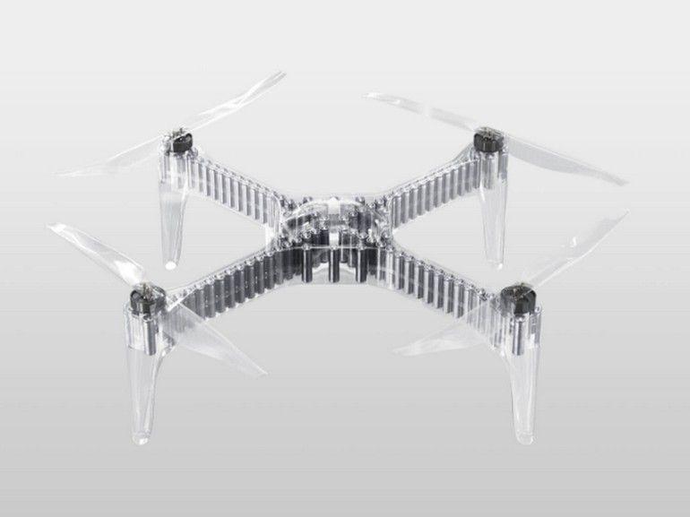 Ce drone peut voler pendant deux heures d'affilée