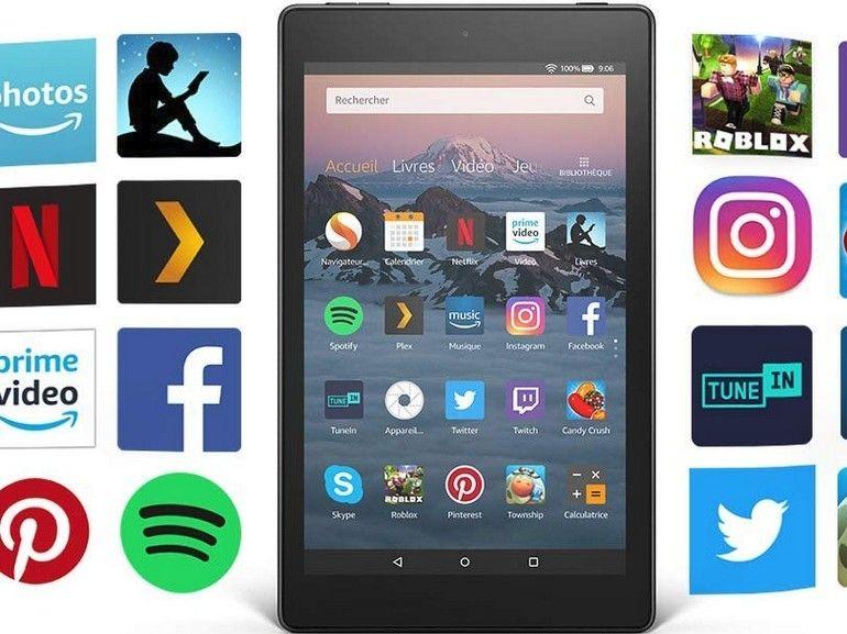 Amazon Fire HD 8 (2018) : une mise à jour à minima de la tablette à 100€