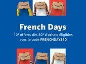 French Days : Amazon offre 10€ de remise dès 50€ d'achats