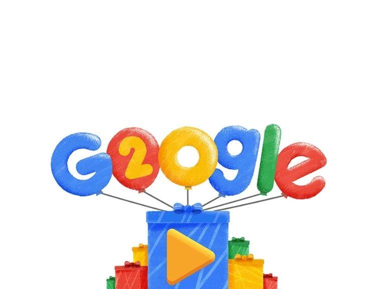 20 ans de Google en 20 Doodles emblématiques