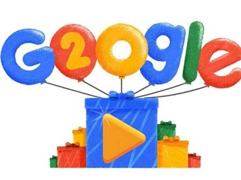 20 ans de Google : un Doodle vous fait revisiter les recherches les plus populaires depuis 1998
