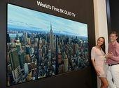 IFA 2018 : LG annonce la sortie de son TV OLED 8K (et montre un Micro-LED)