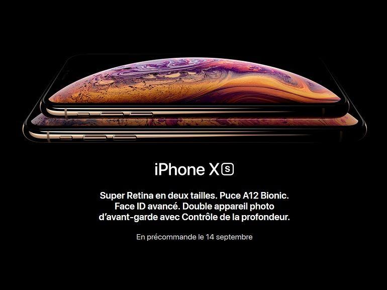 iPhone XS, XS Max et XR : caractéristiques, prix, date de sortie et nouveautés, l'essentiel des choses à savoir