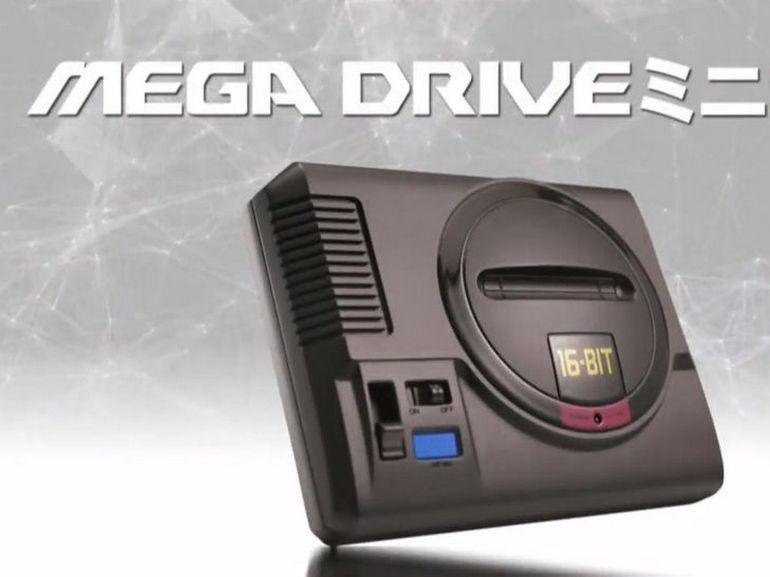 Sega Mega Drive Mini : il faudra patienter jusqu'en 2019