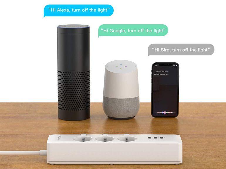 Bon plan : une multiprise connectée avec Siri, Alexa ou Google Assistant à 42,99€