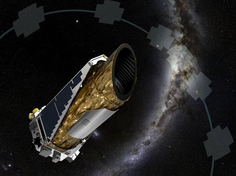 La NASA transmet la toute dernière image capturée par le télescope Kepler