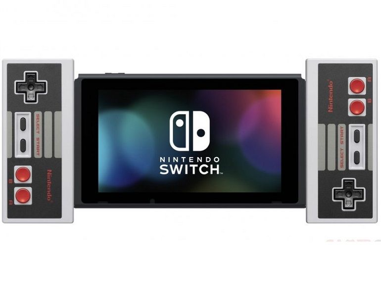 Nintendo annonce des manettes NES pour la console Switch