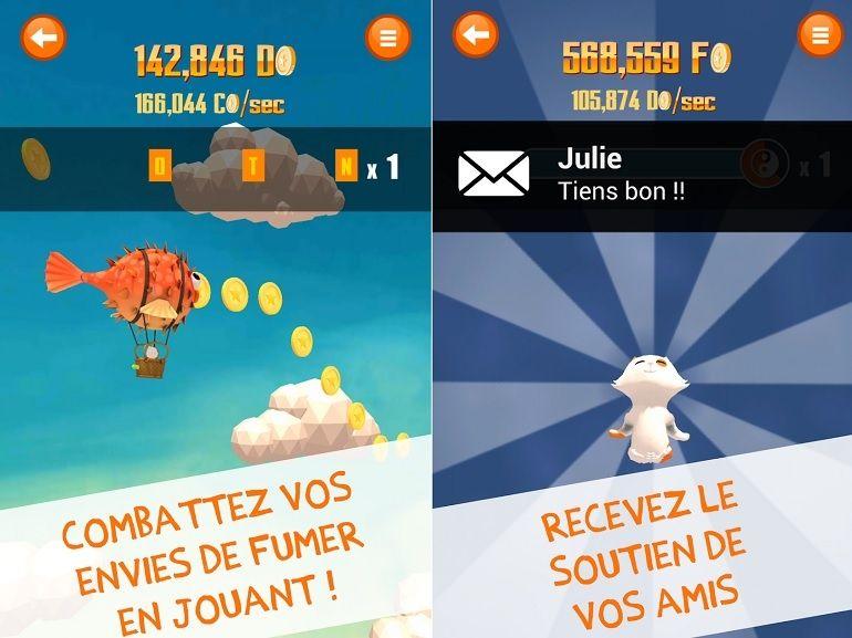 Smokitten, un jeu iOS / Android qui vous aide à arrêter de fumer