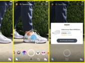 Snapchat : prendre un objet en photo pour l'acheter sur Amazon