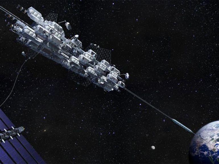 L'ascenseur spatial japonais est désormais en orbite autour de la Terre